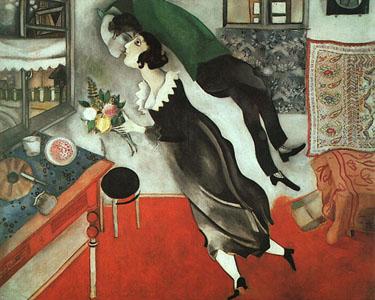 내 생일(마르크 샤갈,1915,뉴욕 현대미술관)