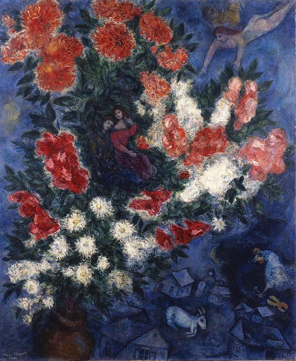 연인들(마르크 샤갈,1937, 국립 이스라엘 미술관)