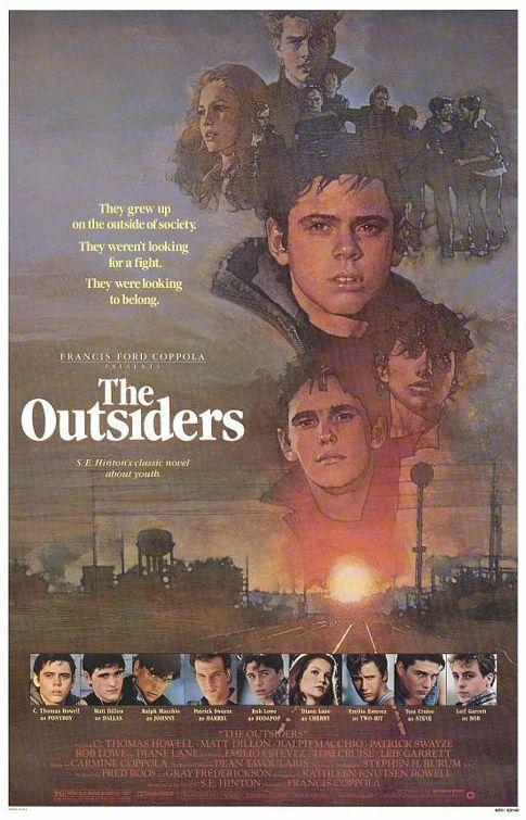영화 <아웃사이더> 포스터.