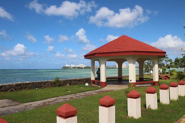 괌 남부해안도로가 휴게시설
