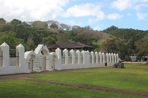 괌 스페인광장 주변 모습
