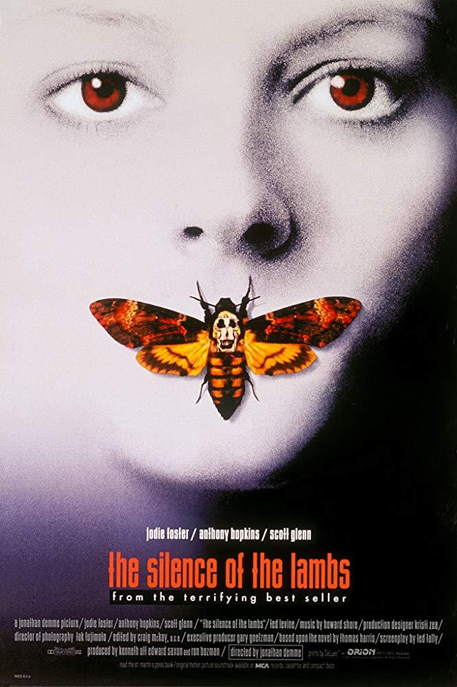 <양들의 침묵> 영화 포스터
