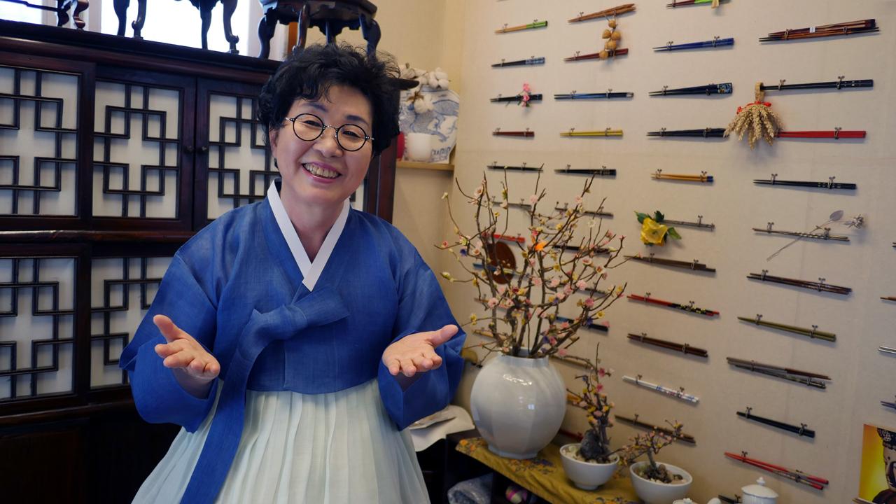 한복려 조선왕조궁중음식 보유자 (국가무형문화재 제38호)