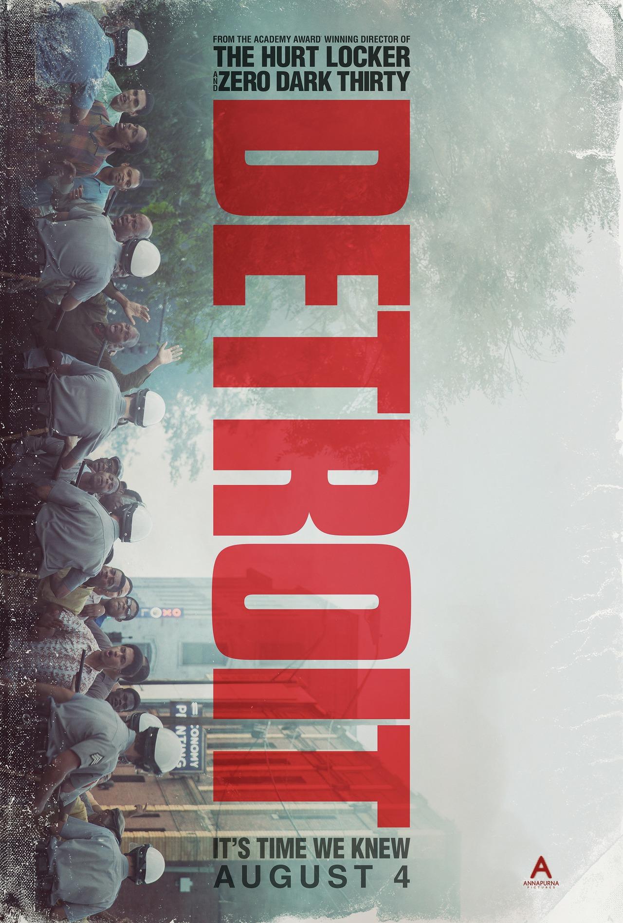 영화 디트로이트 포스터