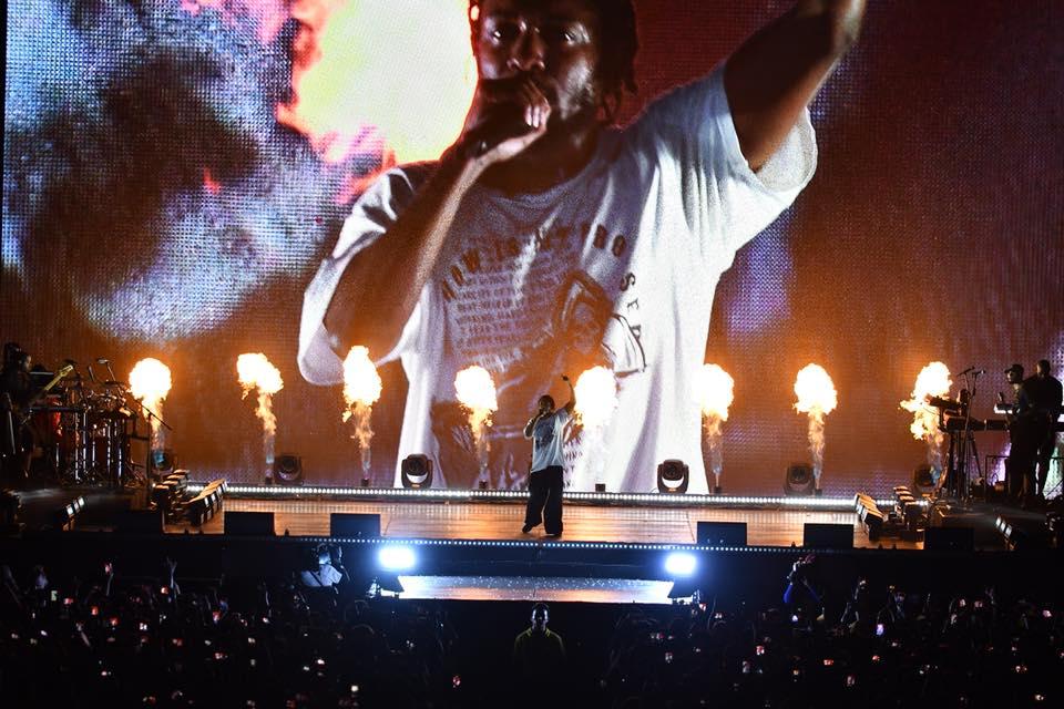 지난 7월 30일, 켄드릭 라마의 첫 내한 공연이 펼쳐졌다.