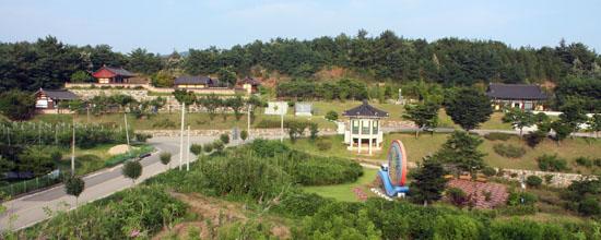 경북 영덕 신돌석 유적지 전경