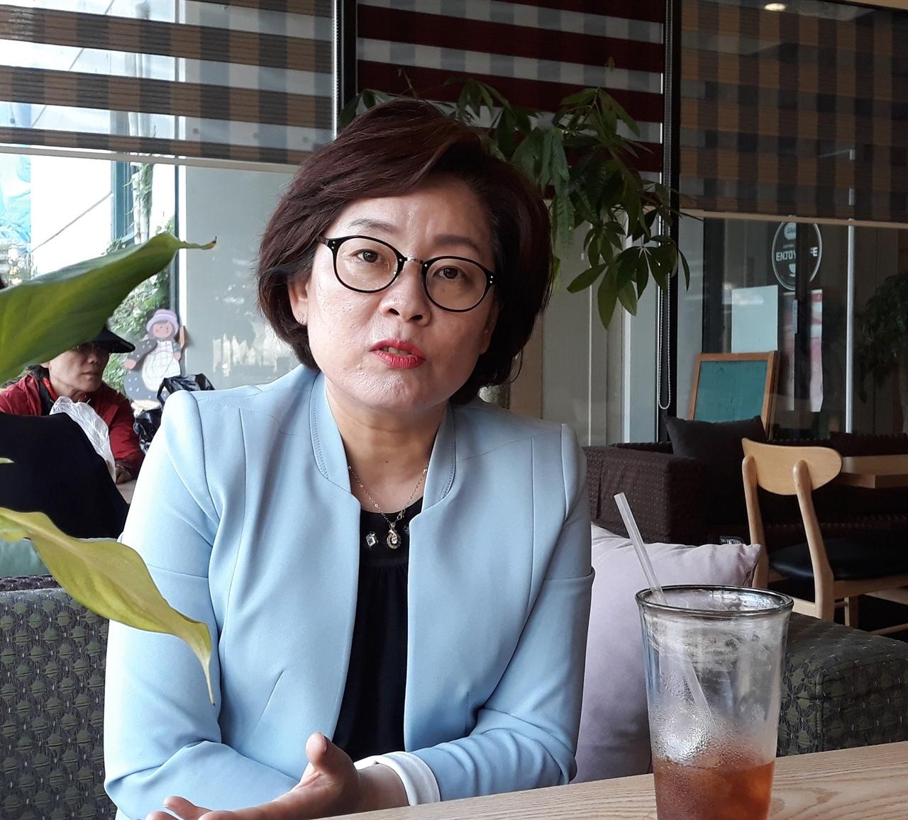 군산시 문화관광해설사회 박미자 회장
