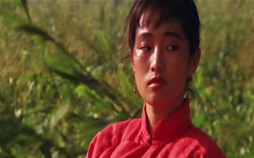 영화 <붉은 수수밭>의 한 장면