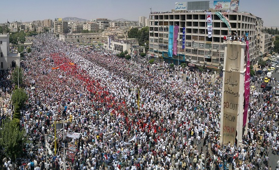 2011년 시리아 내전을 촉발한 반정부 시위의 배경에는 직전 5년간 극심했던 가뭄으로 인한 식량난이 있었다.