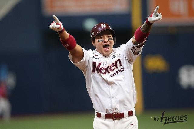 9일 한화전에서 시즌 31호 홈런을 기록한 박병호