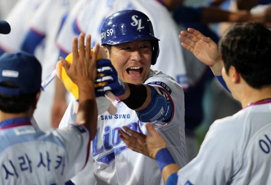 올시즌 19홈런 60타점을 기록한 삼성 강민호