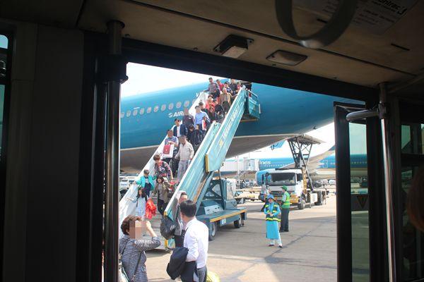 베트남 호치민 공항 모습