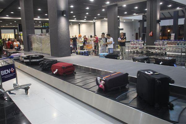 캄보디아 씨엠렛 공항 내부 모습