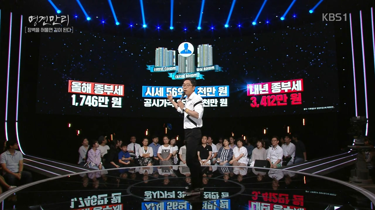 최근 kbs1 <명견만리> 시즌3 연사로 나선 김제동.
