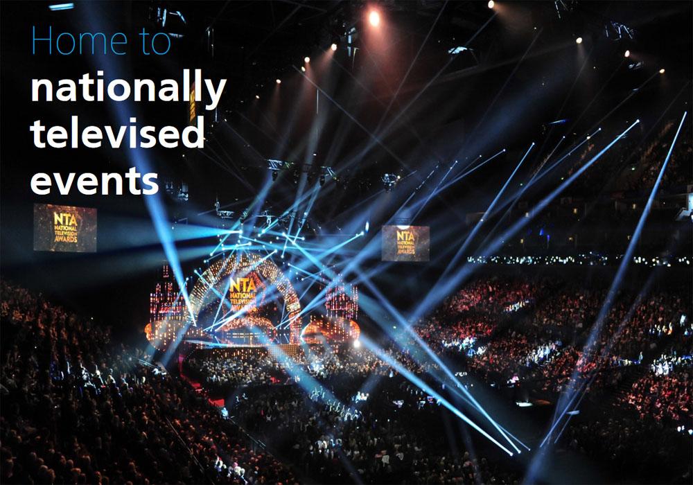 영국 런던의 공연 명소 O2 아레나 (O2아레나 공식 홈페이지)