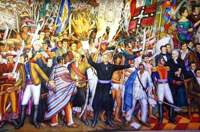 돌로레스의 함성 삽화 멕시코는 1810년 9월 16일 미겔 이달고 신부가 독립운동의 시작을 알리는 종을 울린 날을 독립기념일로 기념하고 있다.