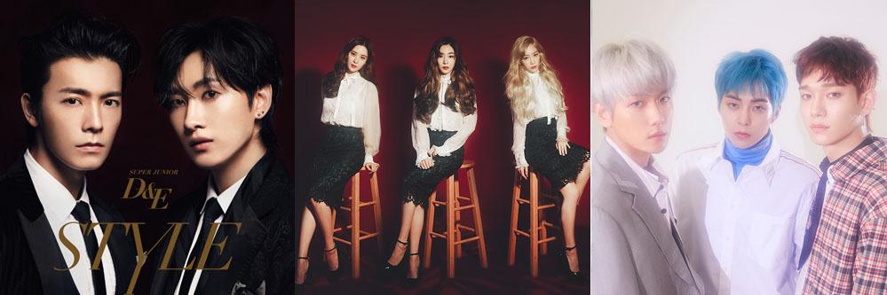슈퍼주니어 D&E, 소녀시대 태티서, 엑소 첸백시 등은 SM이 배출한 대표적인 유닛팀들이다.