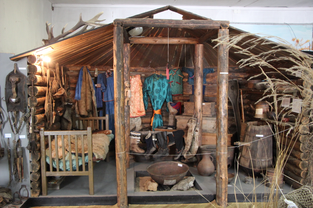 브리야트족 주택 내부