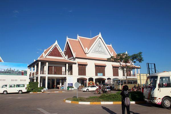 캄보디아 씨엠렛 입장권 매표소가 있는 건물