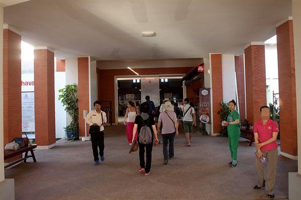 캄보디아 씨엠렛 매표소 입구 모습