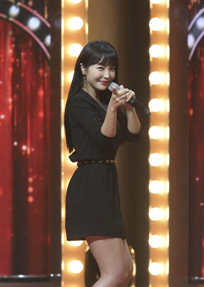 홍진영 JTBC '히든싱어5'에 출연한 홍진영.