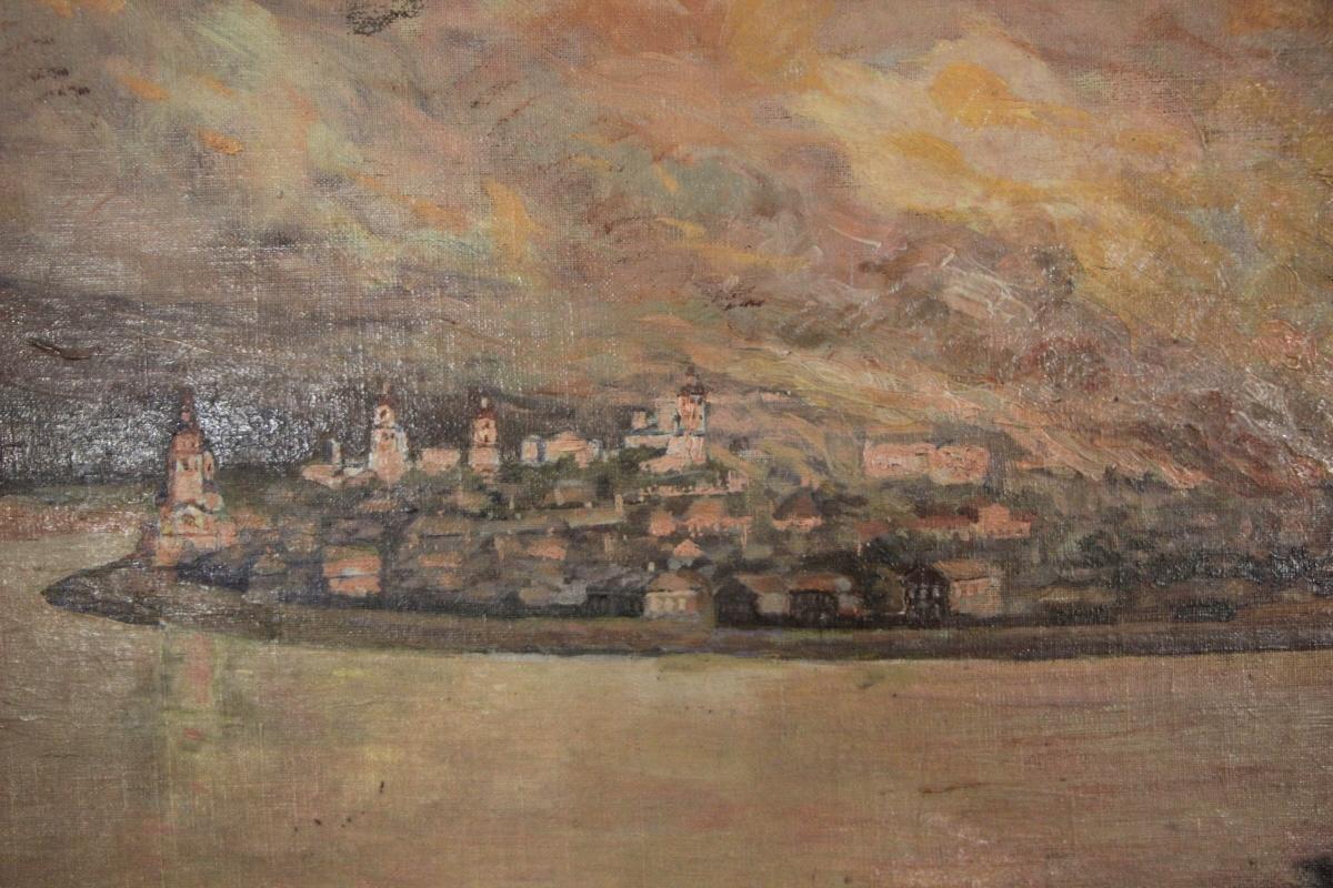 이르쿠츠크 대화재를 그린 그림