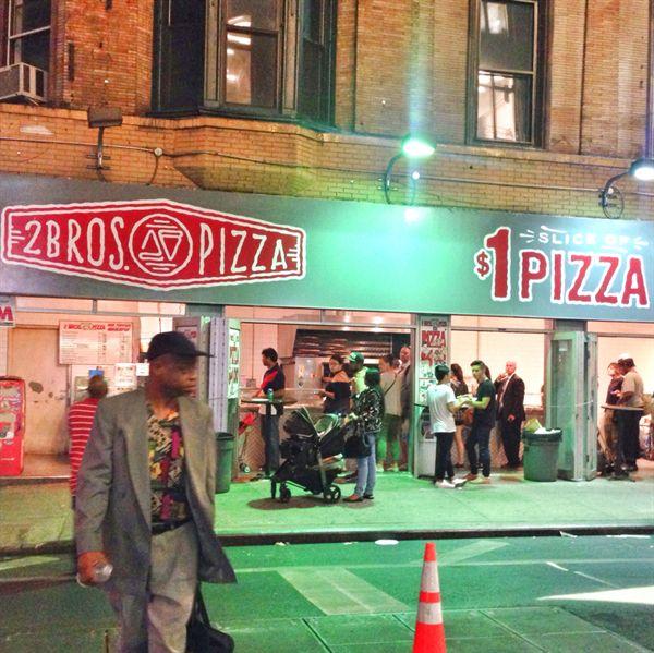 2Bros Pizza 1달러 피자가게