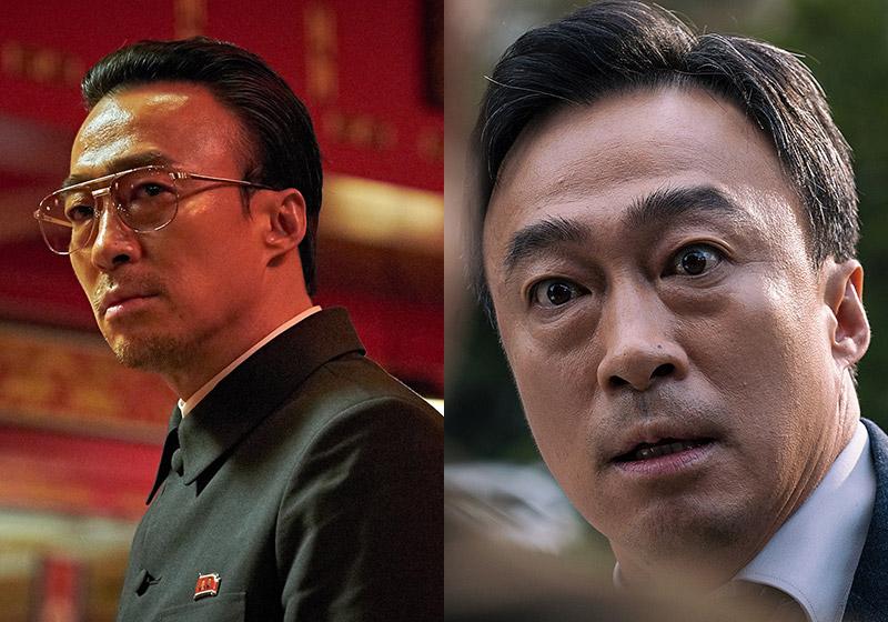 <공작>에서 북한 대외경제위 처장으로, <목격자>에서는 주연을 맡아 회사원 상훈으로 나오는 배우 이성민