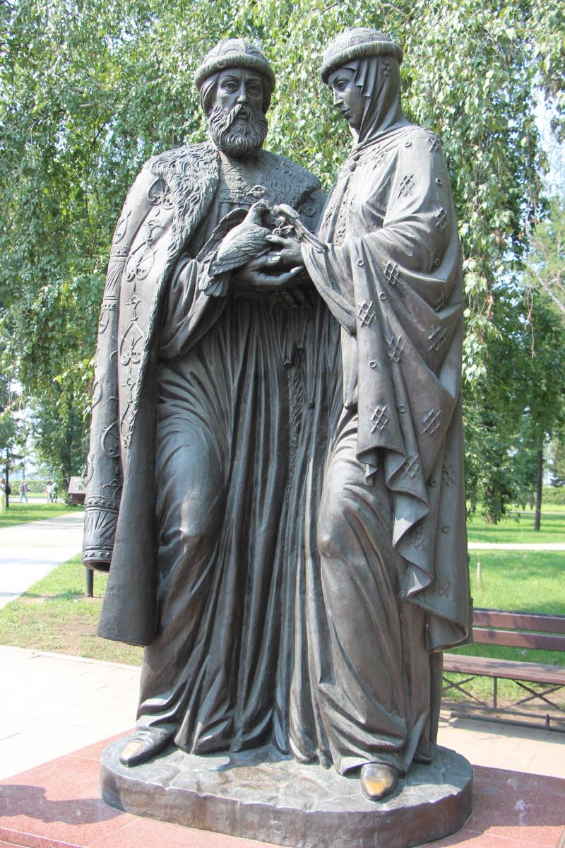 성 표트르와 페브로니야 부부