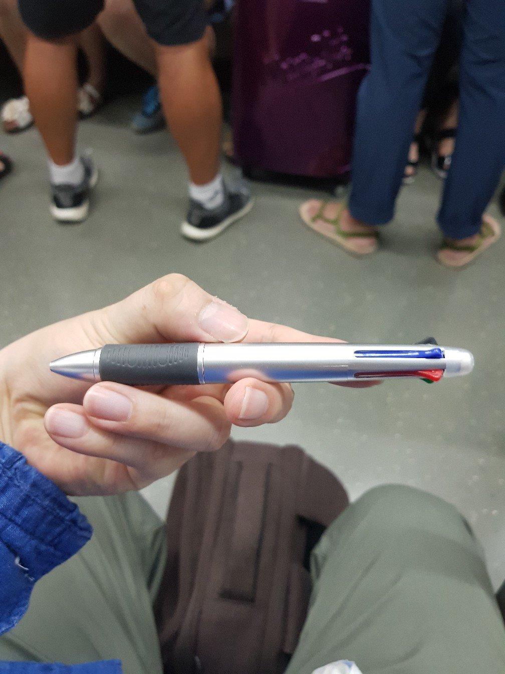 첨단 볼펜은 이렇게 내게 왔다.