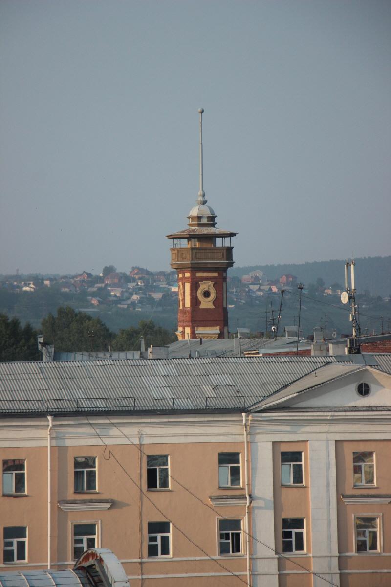 이르쿠츠크 소방서 관제탑