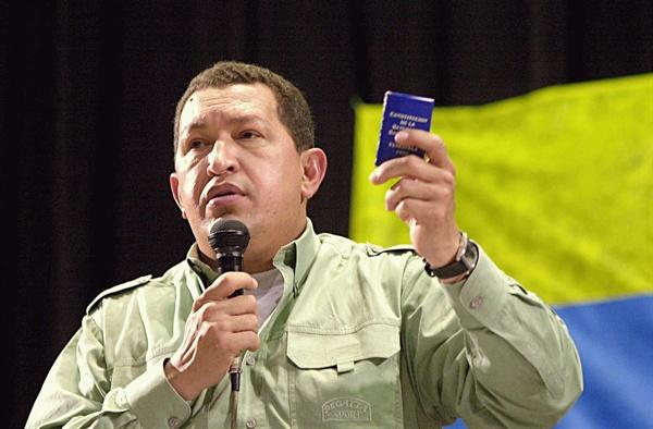 휴고 차베스 전 베네수엘라 대통령.