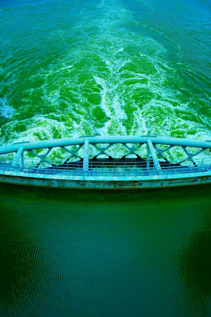 독조라떼 강물이 흘러가는 낙동강. 지난 8월 22일 합천창녕보의 남조류 수치는 밀리미터당 126만셀을 기록했다. 조류 대발생이란 엄청난 사태가 발생한 것이다.