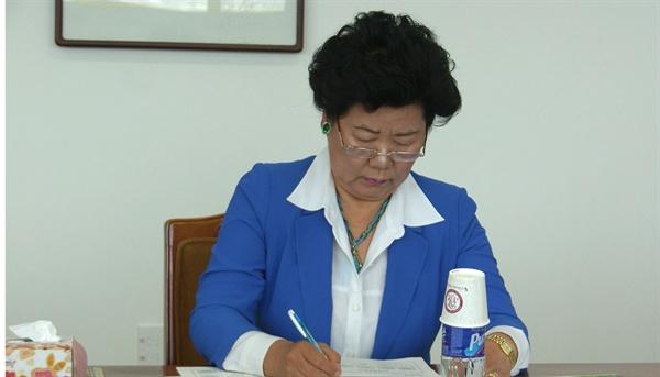 강상례 경남 하동군의회 부의장.