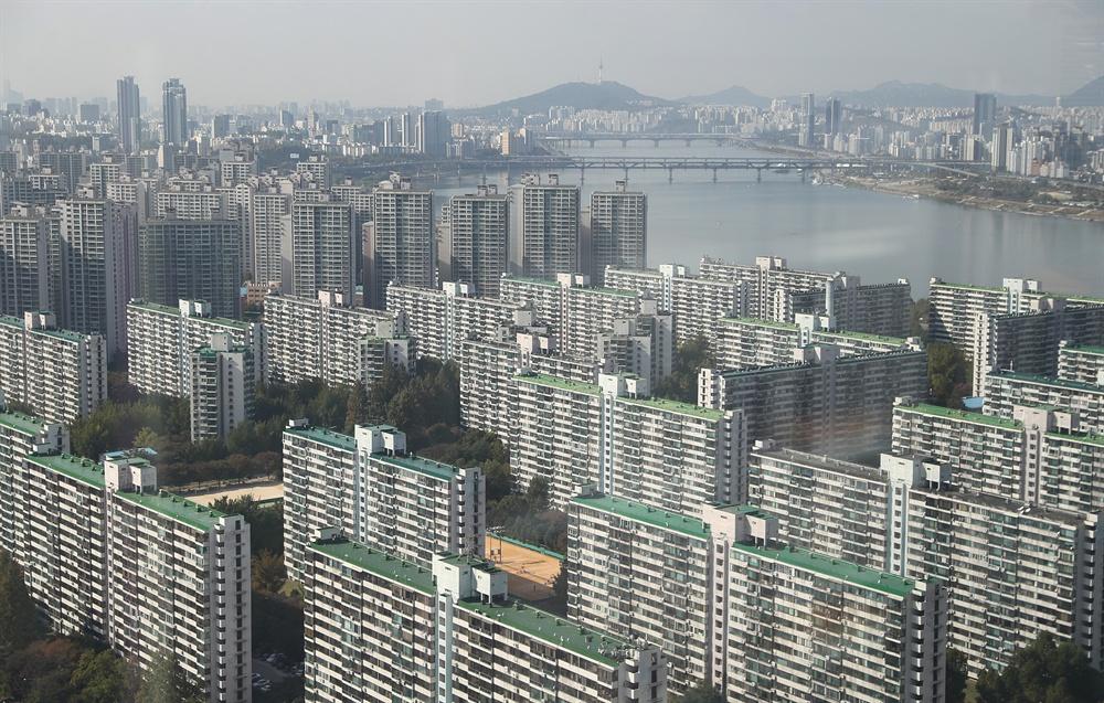 송파구 일대 아파트.