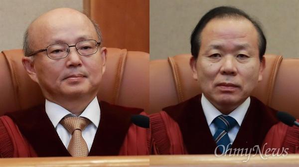 안창호, 김이수 헌법재판관.