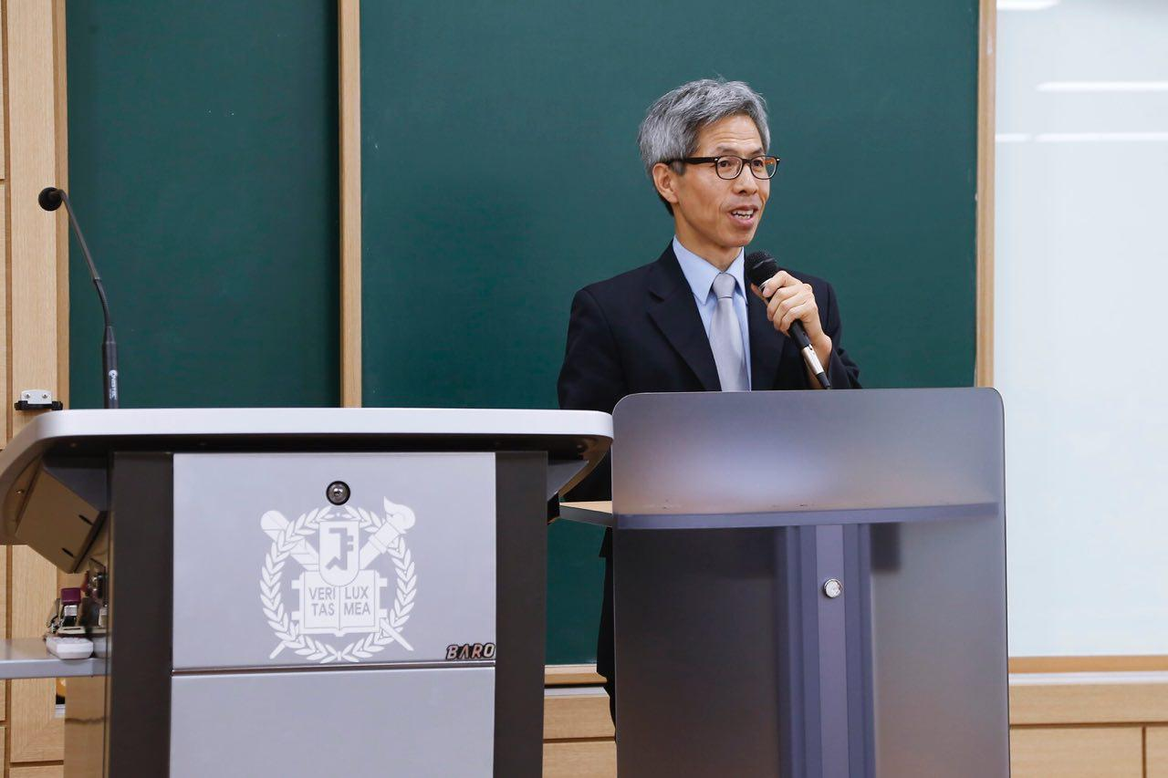 제4회 노란봉투법 모의법정 경연대회 심사위원장 권영국
