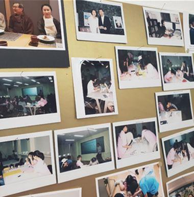 한국여성독립운동연구소에서 활동하고 있는 청소년들의 모습