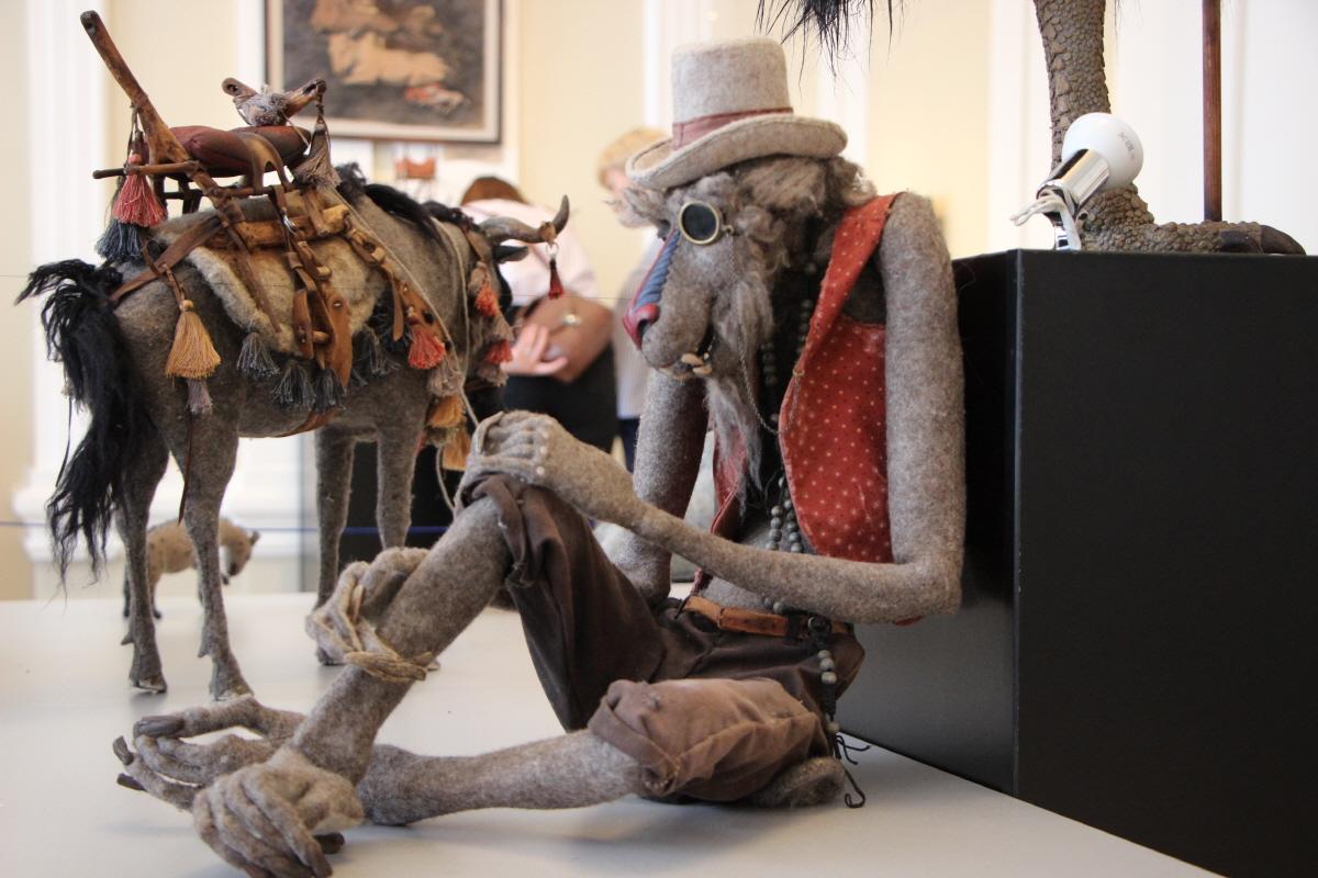동물 인간과 당나귀