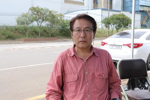당진시 라돈반대대책위원회 박소순 공동위원장