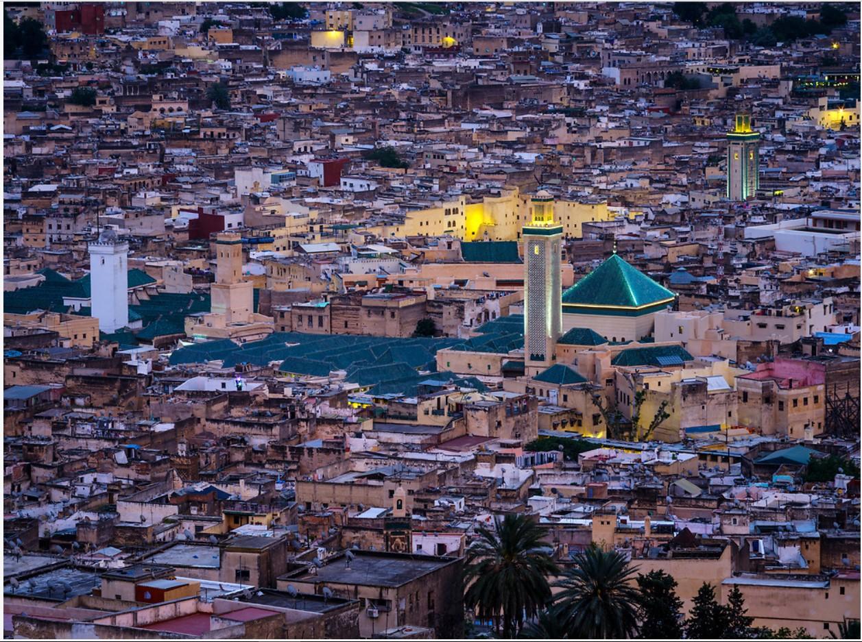 모로코의 파스 (Fez) 모로코의 파스