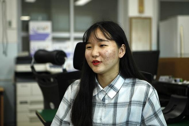 대천 여중 김서현 학생