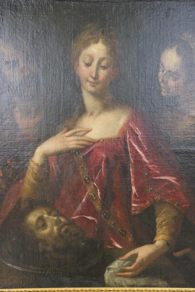 한스 '세례 요한의 목을 들고 있는 헤로디아스'