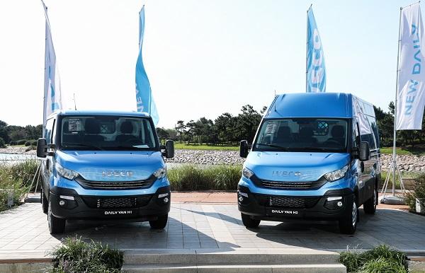 4일 이베코는 인천시 중구 네스트 호텔에서 출시 행사를 갖고, 경상용차 '뉴 데일리 유로6'를 선보였다.