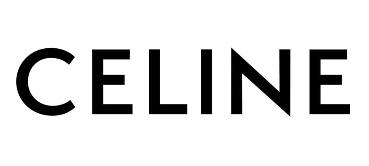 새로운 셀린의 로고.