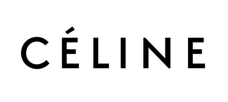 이제 유물로 변해버린 셀린의 옛 로고.