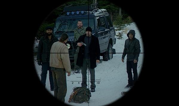 영화 <브레이븐>의 한 장면.