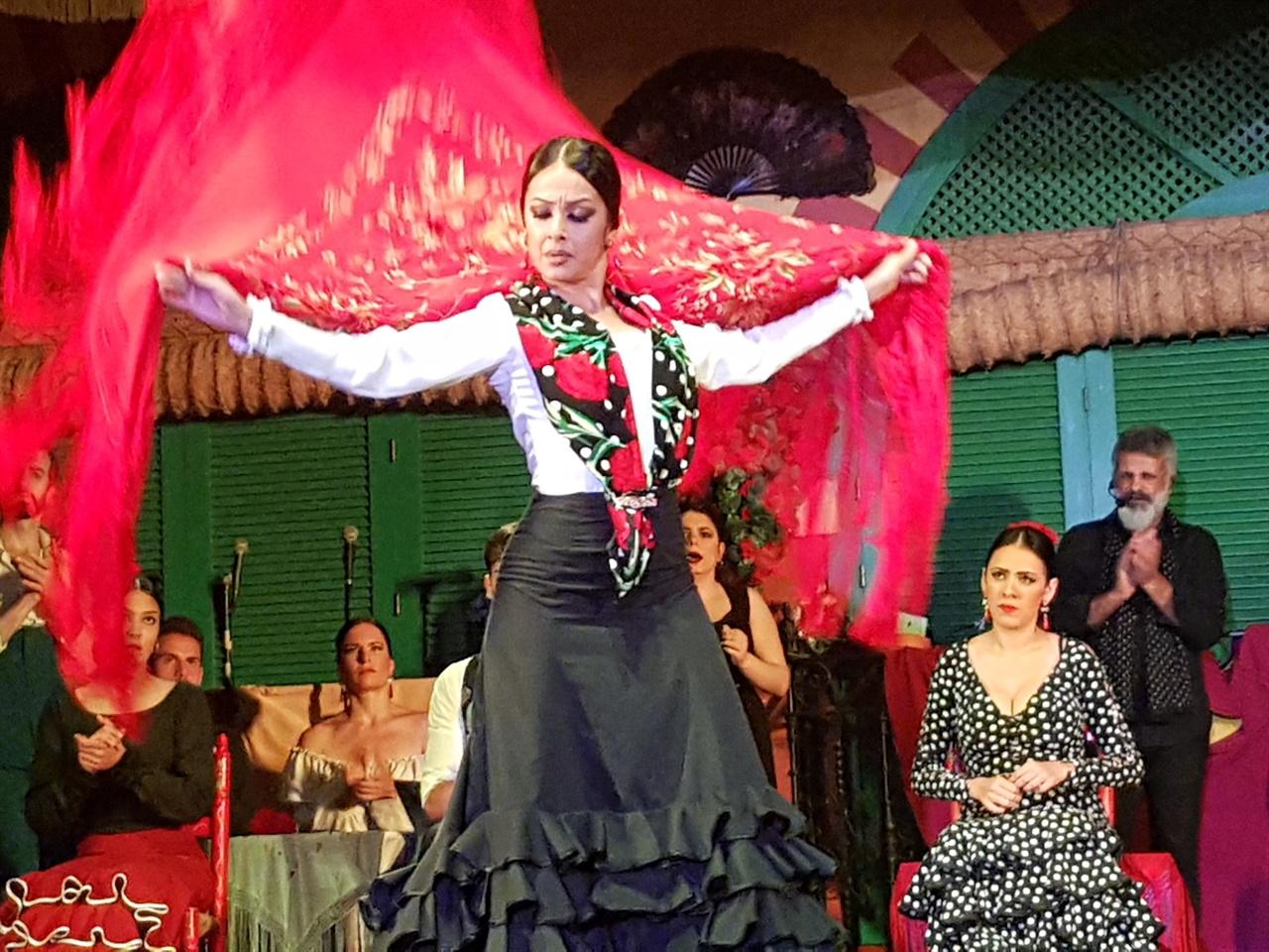 거침없이 춤을 추는 여인의 춤에서 집시의 향기가 물씬 풍깁니다.