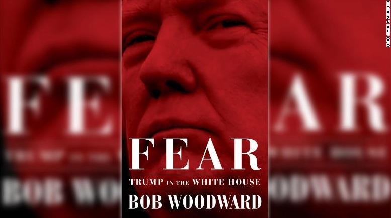 공포:백악관의 트럼프(Fear:Trump in the White House) 표지 갈무리.