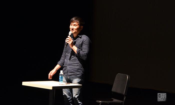 김해 독서대전에 참여한 김연수 작가
